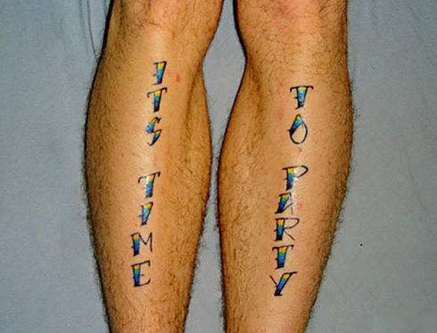check out some of the dorkiest tattoos ever.