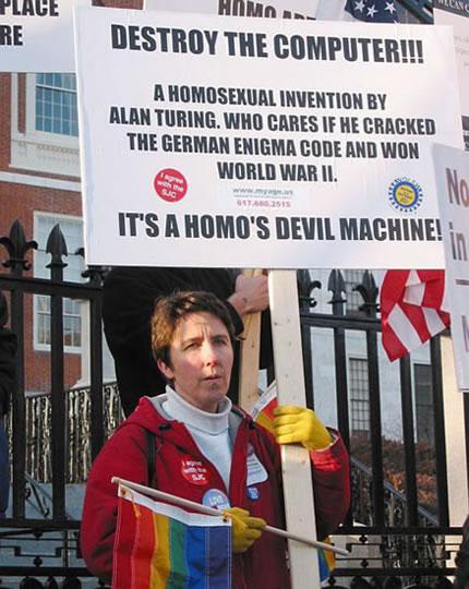 92 Get Off the Homo's Devil Machine